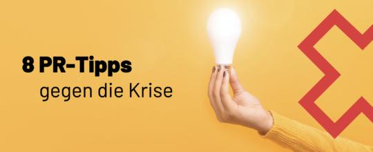 PR Tipps Corona-Krise
